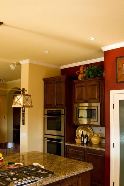 Torrez Residence traditional-kitchen