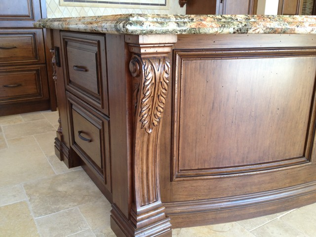 Toscana Custom Home traditional-kitchen