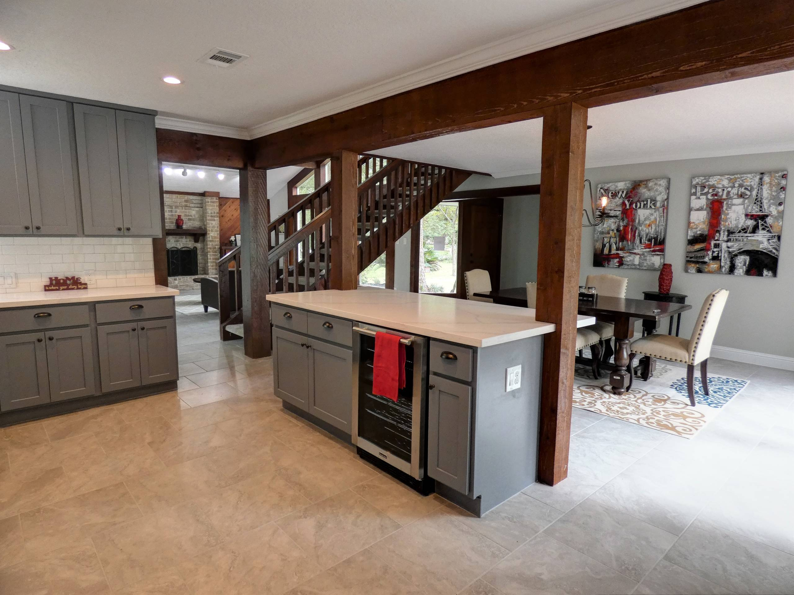 Total Remodel of the House in the Woods