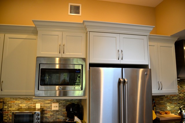 Total Renovation for Custom Kitchen traditional-kitchen