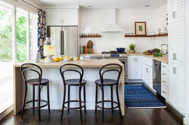 Tendencias deco en la cocina alfombras y sillones para 2017 for Modelo de cocina pequena moderna