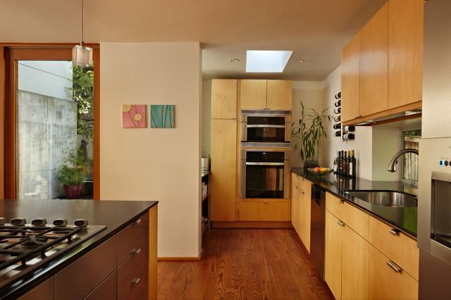 Tower House modern-kitchen