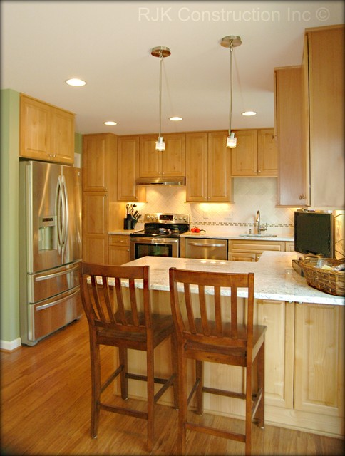 Townhome Kitchen Remodel traditional-kitchen