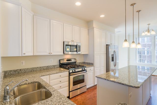 Townhouse 3 in Locust Point traditional-kitchen