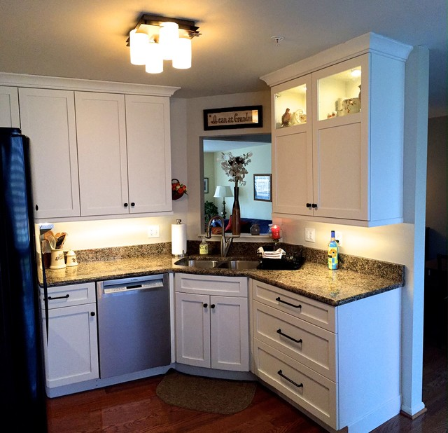 Townhouse Remodel Traditional Kitchen Baltimore By