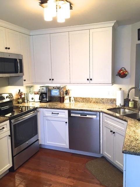 Townhouse Remodel - Traditional - Kitchen - Baltimore - by Melissa Mueller - Designer, Kenwood ...
