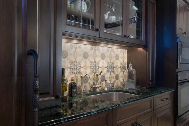 Townhouse renovation, Philadelphia, Pennsylvania traditional-kitchen