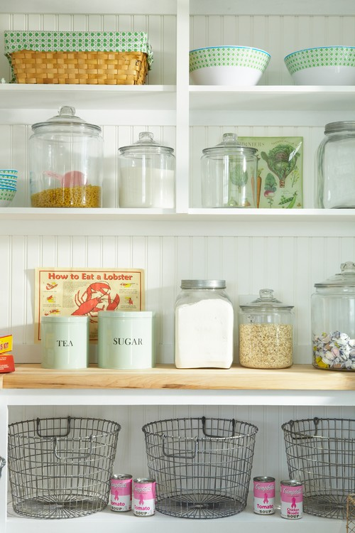 open shelving ideas for the kitchen town country living