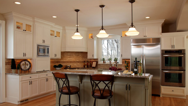 Traditioanal New Home/New Construction traditional-kitchen
