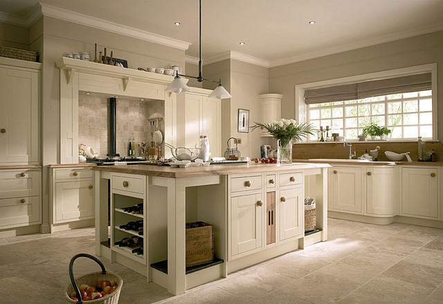 Tradition Hand Painted Country Style Country Kitchen London By Alban Furniture Ltd Houzz Au