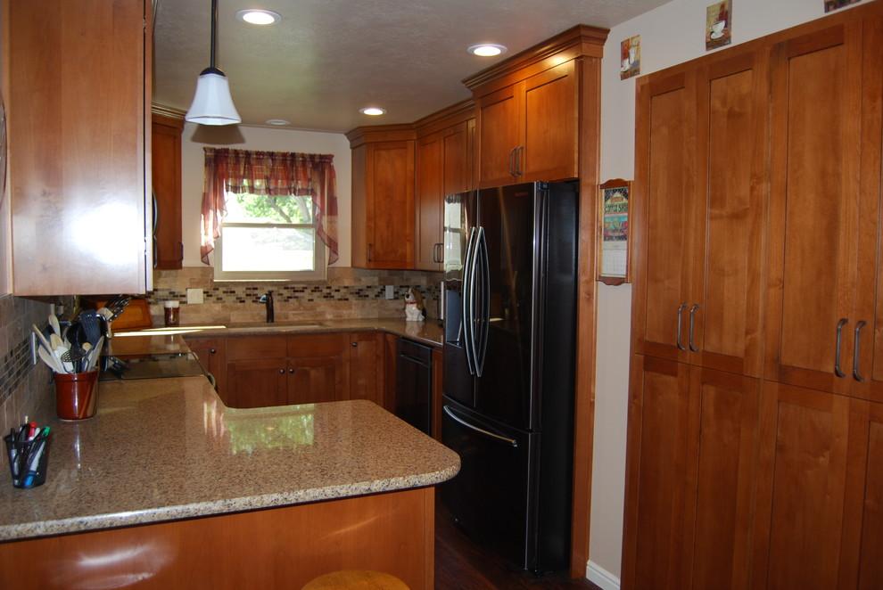 Traditional Alder Cabinet Remodel - Traditional - Kitchen ...