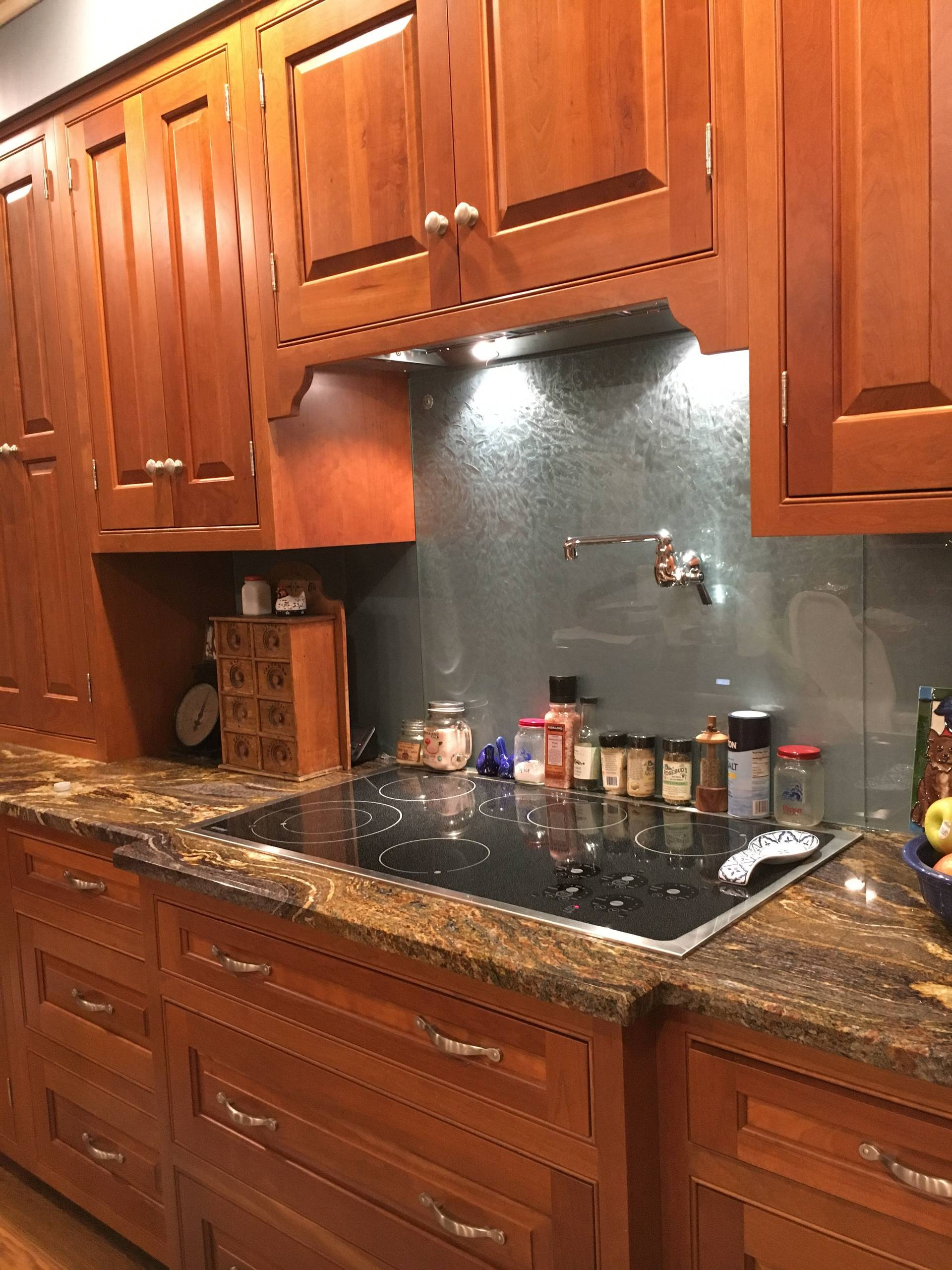 Traditional Beaded, Inset Cherry Kitchen