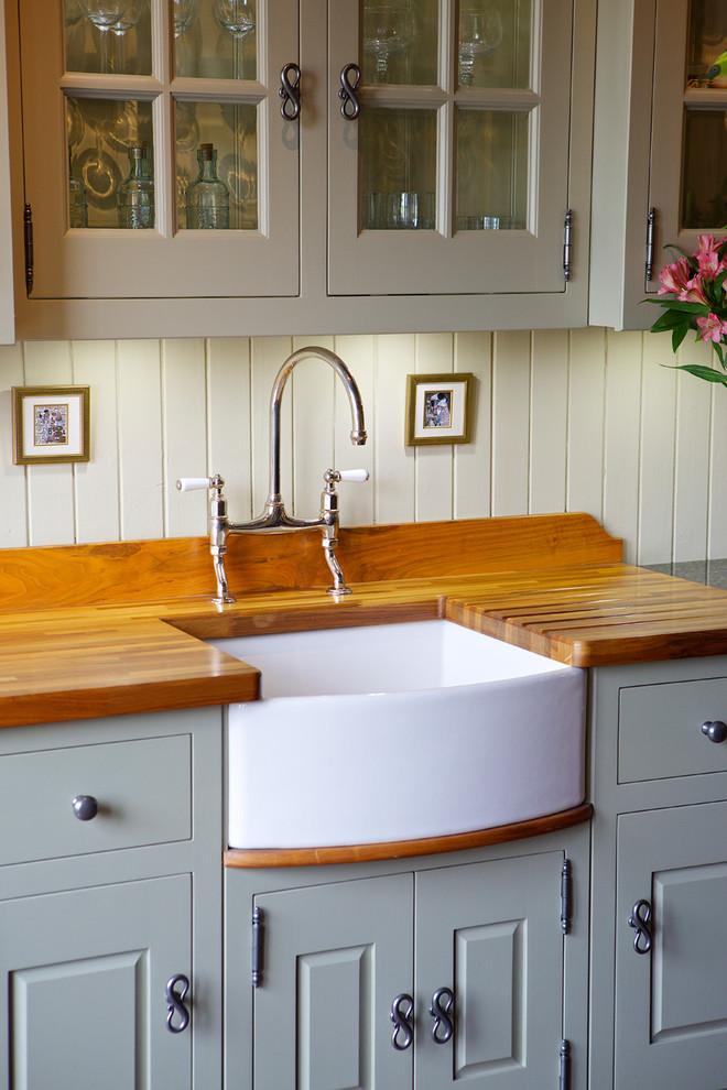 Traditional Belfast Sink Housing Traditional Kitchen Edinburgh By Christopher Howard
