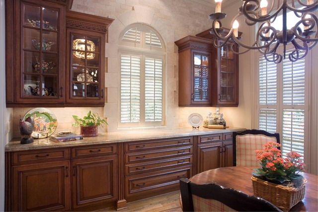 Wood mode kitchen traditional kitchen houston by for Kitchen innovations