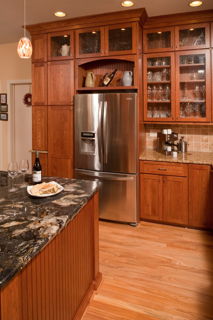 Traditional Cherry - Chapel Hill NC traditional-kitchen