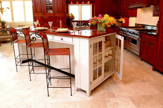 Traditional cherry kitchen dayton ohio traditional kitchen other metro by the workshops Kitchen by design dayton ohio