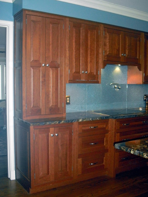 Traditional cherry kitchen/Middletown Ohio traditional-kitchen