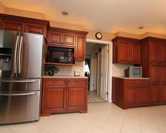 Baltimore Marquis Cinnamon Kitchen Cabinets Home Design Ideas
