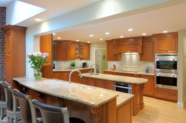 Traditional Cherry Kitchen traditional-kitchen