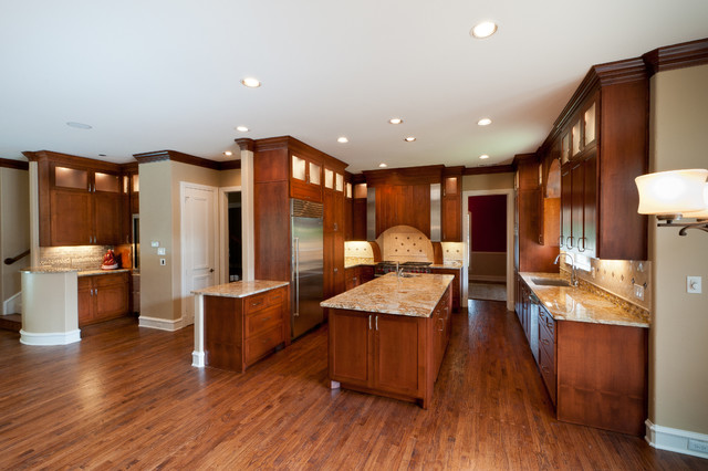 Traditional Cherrywood Kitchen Remodel