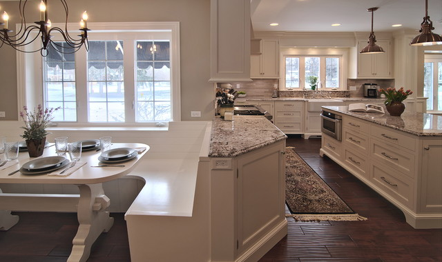 Traditional Contemporary Kitchen Remodel traditional-kitchen