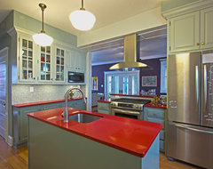 Traditional/Contemporary Kitchen - Takoma Park, MD contemporary-kitchen