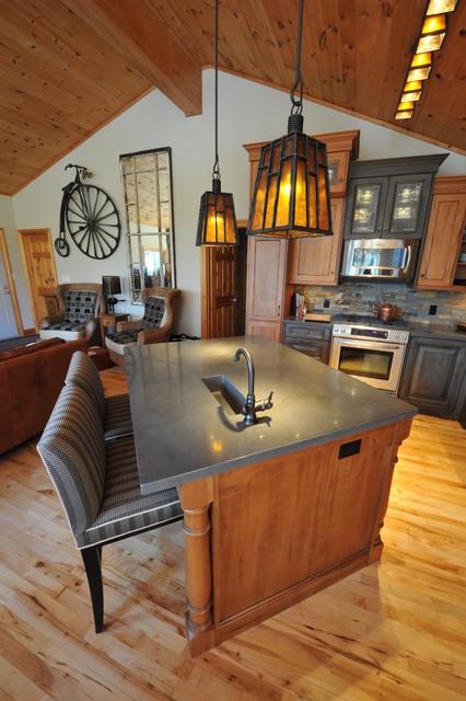 Dovetail Interiors - Haliburton eclectic-kitchen