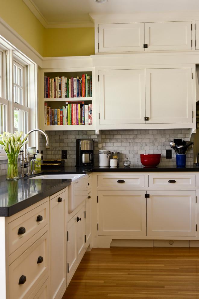 Inspiration for a craftsman kitchen remodel in San Francisco