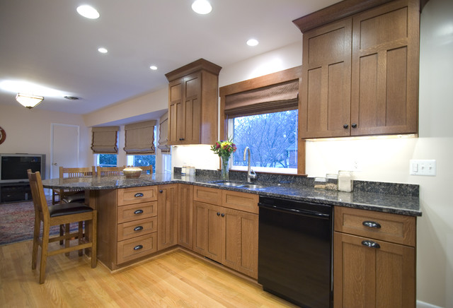 Traditional Craftsman Style Kitchen traditional kitchen
