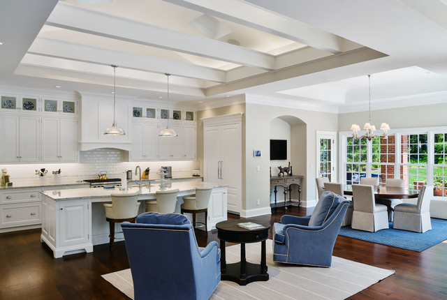 Traditional Custom Home - Traditional - Kitchen ...