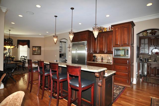traditional custom home marietta ga traditional kitchen