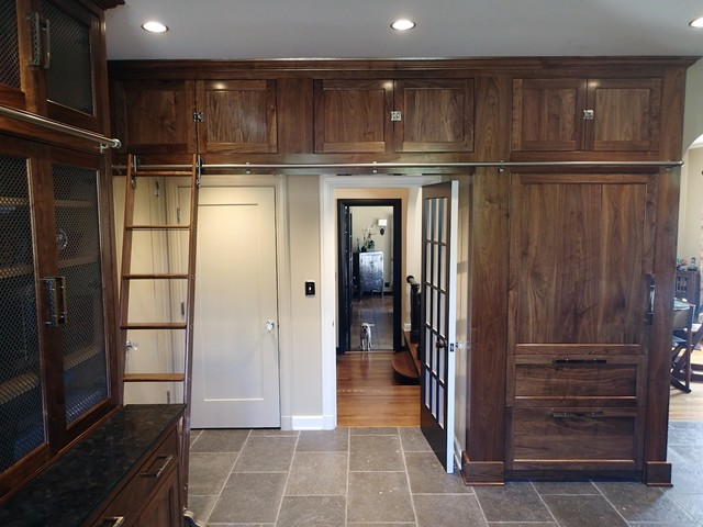 Traditional Custom Kitchen Pantry Design Hancock Park CA