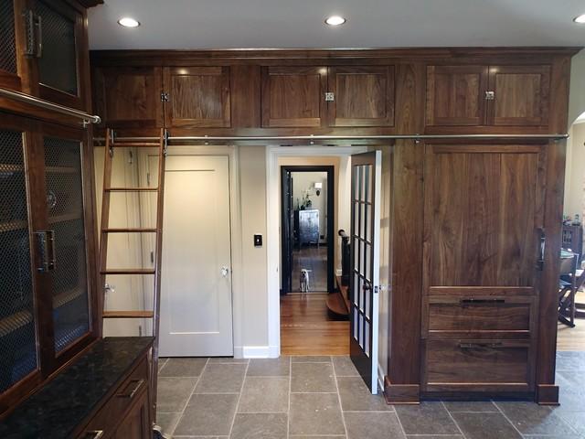 traditional custom kitchen pantry design hancock park ca