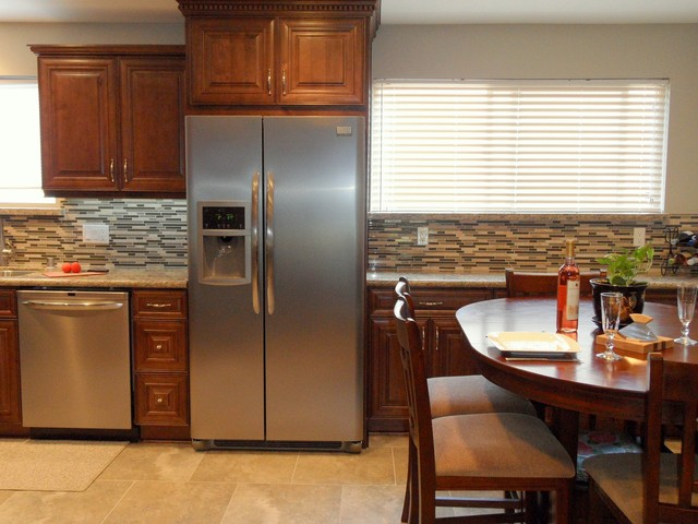 Traditional design for Kitchen renovation in Burbank, CA traditional-kitchen
