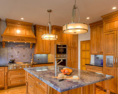 Fairfax Residence Designed By: Carole Hedstrom - Feat. Dura Supreme Cabinetry traditional-kitchen