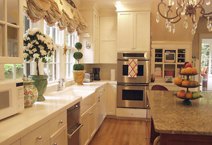 Traditional federal style kitchen traditional kitchen for Federation kitchen designs