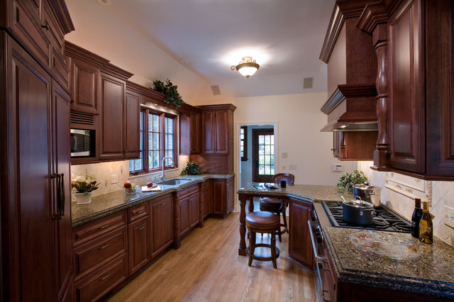Traditional galley traditional kitchen chicago by for Traditional galley kitchens