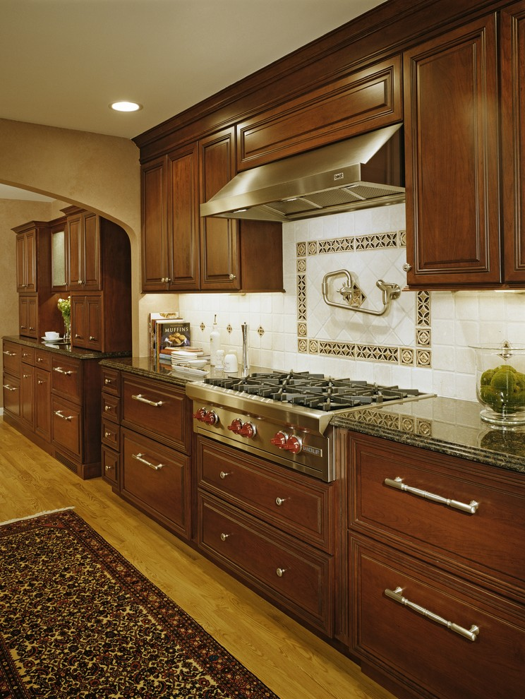 Traditional Gourmet Kitchen Addition/Expansion ...