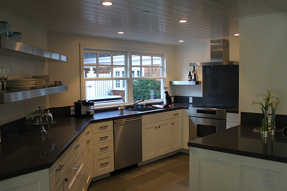 Traditional Guest House contemporary-kitchen