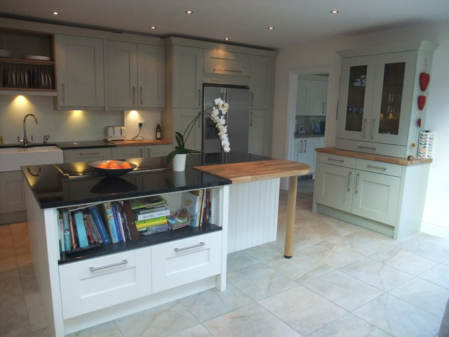 Traditional Hertfordshire Painted Kitchen