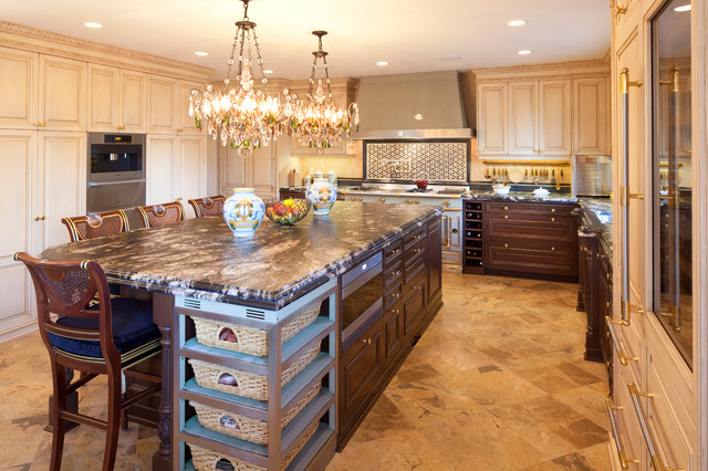 Traditional home traditional kitchen calgary by empire kitchen bath - Empire kitchen and bath ...