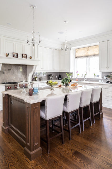 Traditional Home - Traditional - Kitchen - Toronto - by Silvergate Homes Ltd.