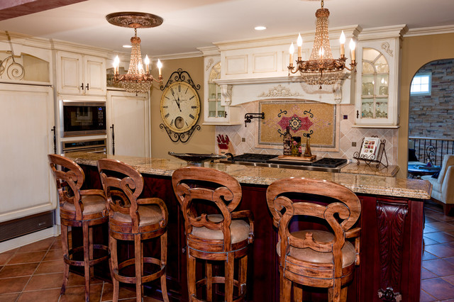 Traditional Homes eclectic-kitchen