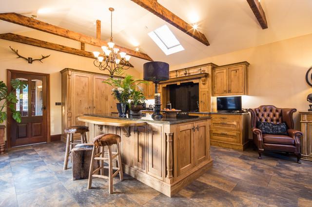 traditional inframe kitchen barnsley  traditional