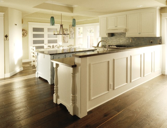 Traditional Interior Goes to the Beach traditional-kitchen