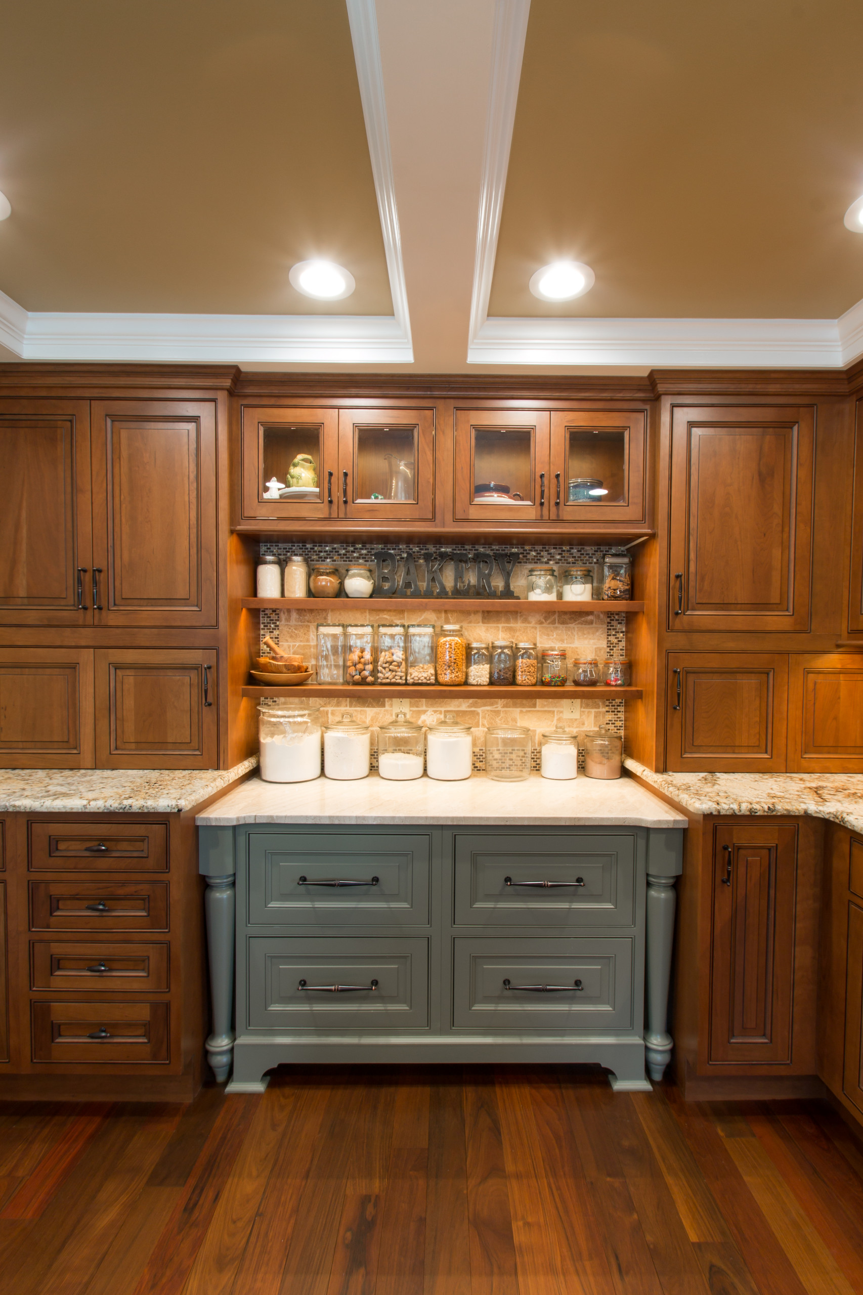 Traditional Kingston, NH Kitchen with Baking Space