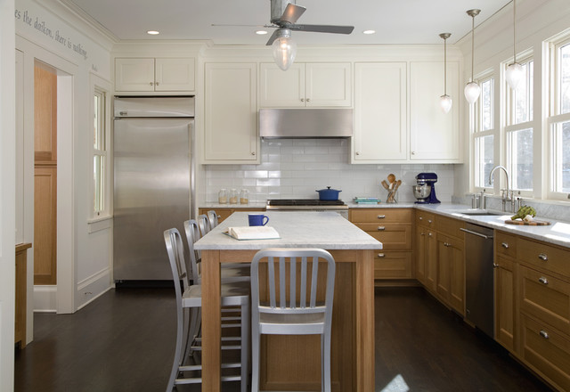 Linden Hills Addition traditional kitchen