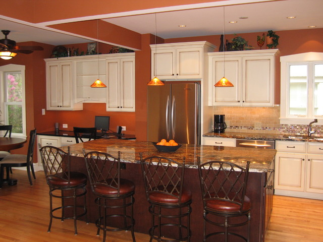 Burnt Orange Kitchen Decor