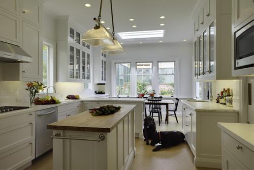 """Decorating A Long Narrow Kitchen"""