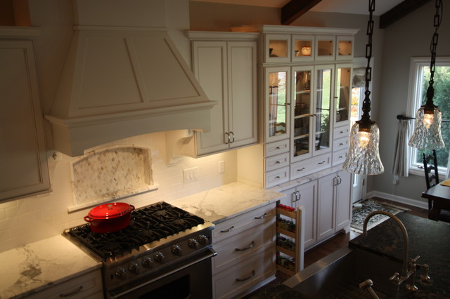 White Kitchen  Cabinetry traditional-kitchen